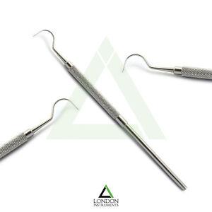 Hook-Shape-Perio-Calculus-Tartar-Remover-Dental-Probe-23-Teeth-Cleaning