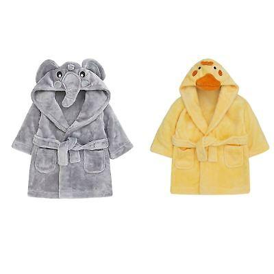 Canard Éléphant Bébé Robe De Chambre Peignoir Maison manteau bébé 3d Cute Animal