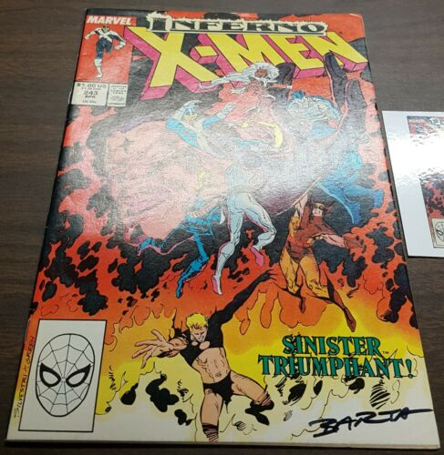 1963 #206-251 SIGNED Claremont Silvestri etc w//Notarized WOS The Uncanny X-Men