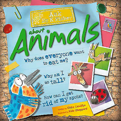 """""""AS NEW"""" Animals (Ask Dr K. Fisher), Llewellyn, Claire, Book"""