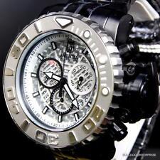 Invicta Sea Hunter II JT Jason Taylor Black Silver 70mm Full Sized Watch New