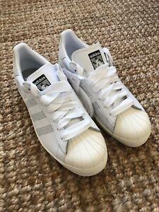 cruzar Listo popurrí  NEW adidas x Palace Superstar Shoes - White - Men's size 9 | eBay