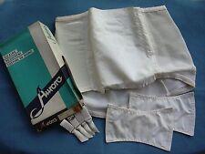 vintage lingerie girdle  guaina reggicalze anni 60 Aurora TG 6 box originale
