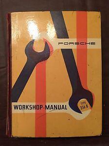 Details About Porsche 356 B Factory Workshop Manual Original And Complete
