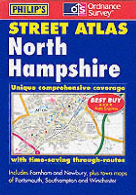 , Philip's Street Atlas North Hampshire, Very Good Book