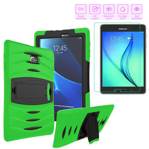 Shockproof-Military-Heavy-Duty-Case-Tempered-Glass-For-Galaxy-Tab-E-9-6-T560