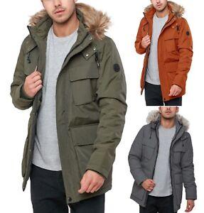 men's parka jacket with fur hood