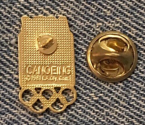 Tennis Olympic Pin~Set of 4~Pictogram~1984 Los Angeles~LA~vintage cloisonne