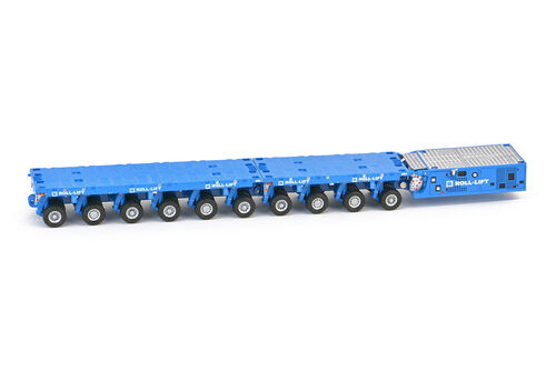 IMC 33-0048 Roll-Lift Scheuerle SPMT 6 axle with SPMT 4 axle with PPU