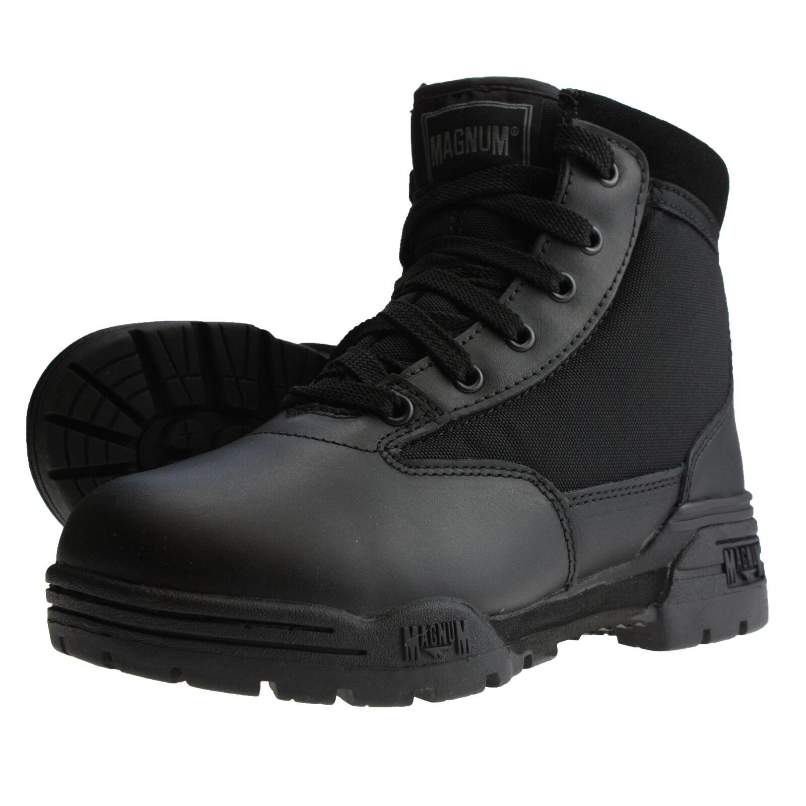 HI-TEC - Magnum Magnum Magnum MEDIO Botas de hombres y mujeres Seguridad Ranger Zapatos Paintb 0fe82d
