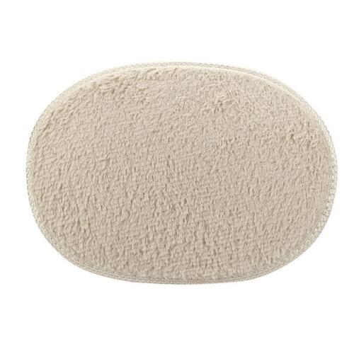 30*40cm Anti-Skid Fluffy Shaggy Area Rug Home Bedroom Bathroom Floor Door Mat