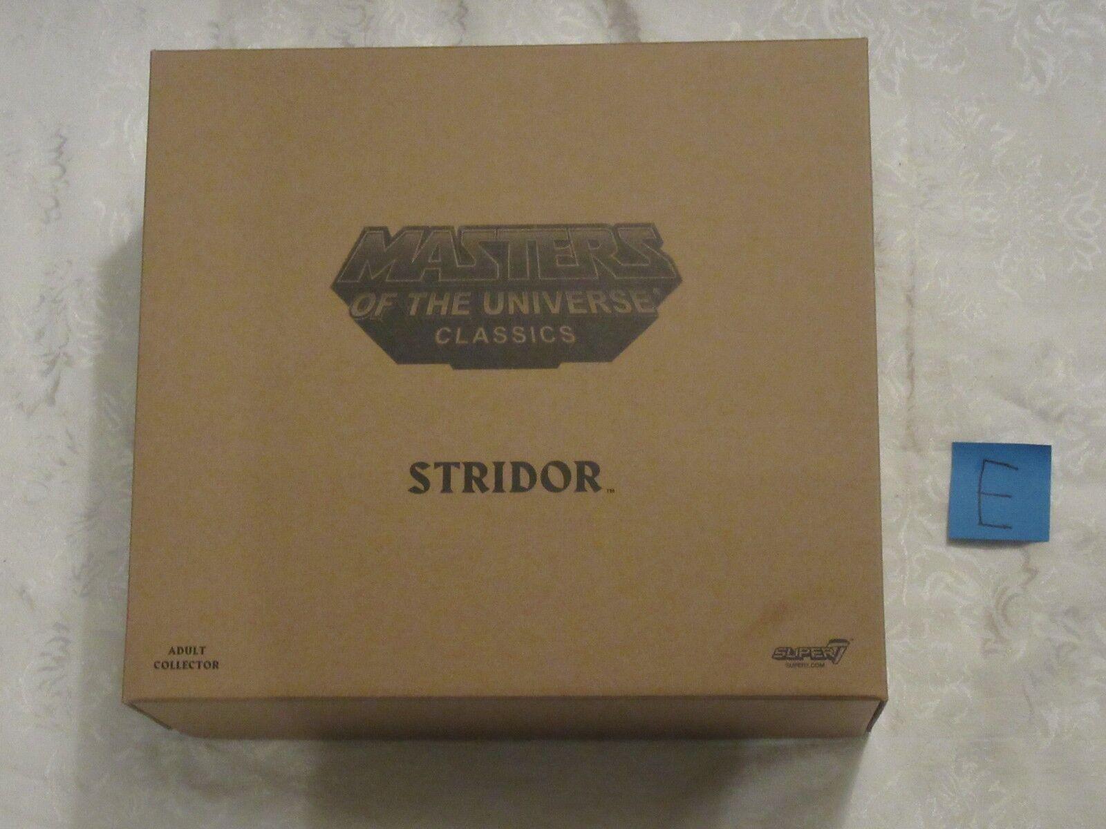 Super7 2018 MOTUC MOTU Masters of the Universe Classics He-Man Stridor E