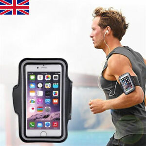 pretty nice 612a9 ee660 Details about Gym Running Jogging Arm Band Sport Armband Holder Strap For  iPhone 5 5s SE