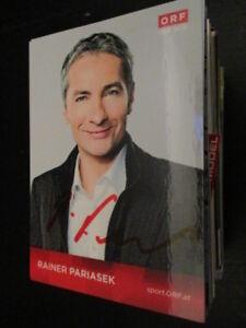73294 Rainer Pariasek TV Musik Film original signierte Autogrammkarte