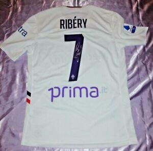 Details about Grid Franck Ribery Original Signed Atalanta fiorentina- show original title