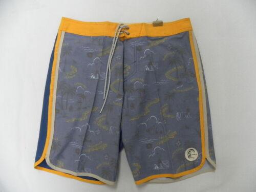 "O/'Neill O/'riginals Boys Hook 18/"" Retrofreak Boardshorts Swimwear Sz 26"