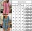 Damen Hippie Strandkleider Minikleid Sommer Kaftan Freizeit Geblümt Tunikakleid