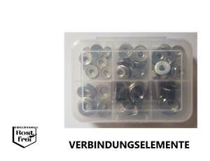 UNC-EDELSTAHL-A2-Flanschmuttern-Sortiment-37-Teile-DIN-6923-mit-Sperrverzahnung