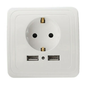 Placa-de-cargador-de-pared-con-puerto-USB-2-de-enchufe-doble-de-la-UE-1-PCS