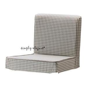 Enjoyable Details About Ikea Cover For Henriksdal Bar Stool Slipcover Sagmyra Gray Check Grey Cover New Forskolin Free Trial Chair Design Images Forskolin Free Trialorg