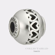 Authentic Pandora Essence Collection Silver Love Bead 796070