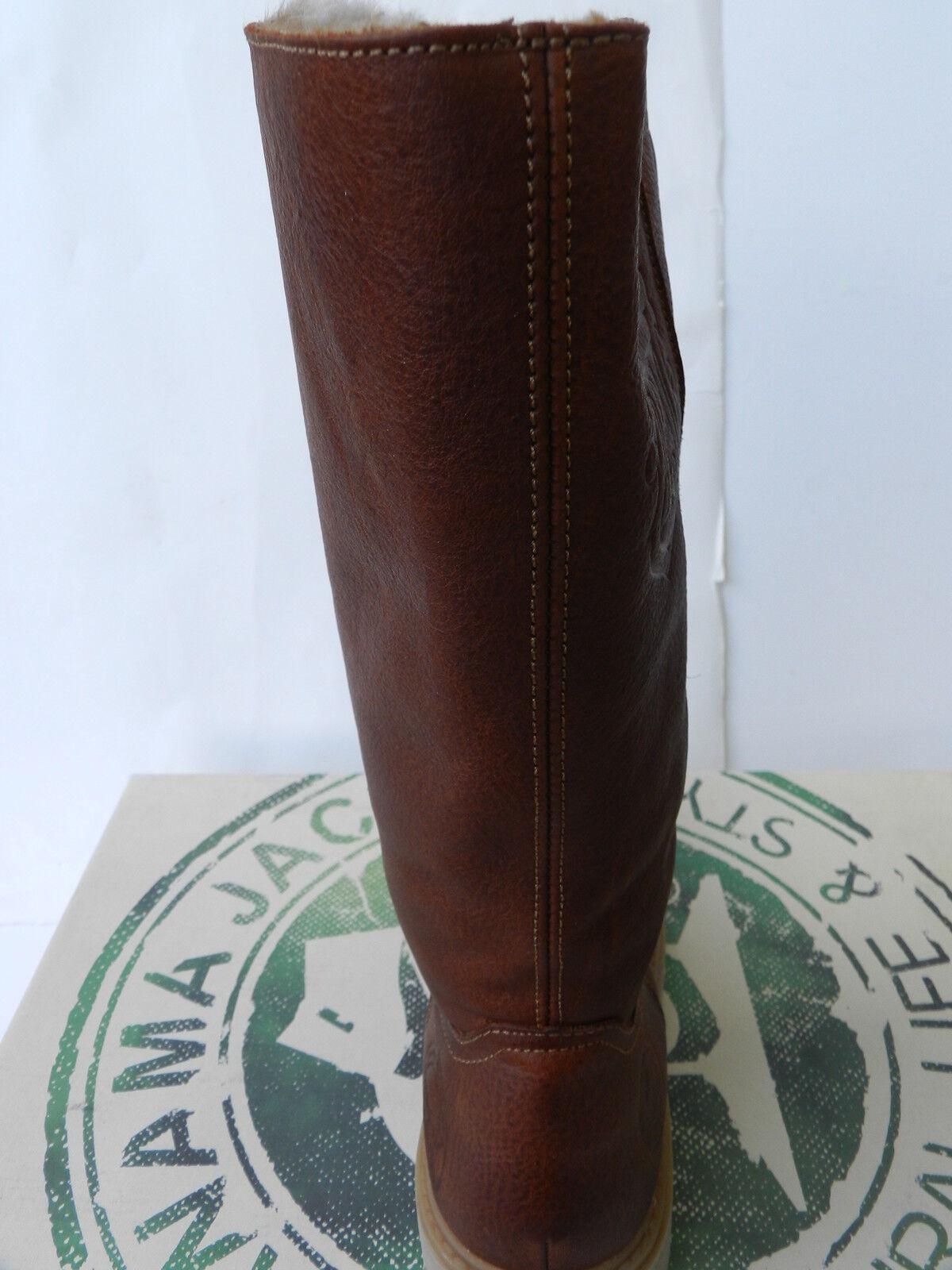 Panama Jack Basica 30 shoes 41 Bottes Bottes Bottes Fourrées Bambina Igloo Cuero UK7 Neuf c4a502