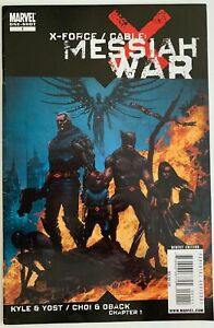 X-FORCE-amp-CABLE-MESSIAH-WAR-7-0-VERY-FINE-MARVEL-Comics-2009