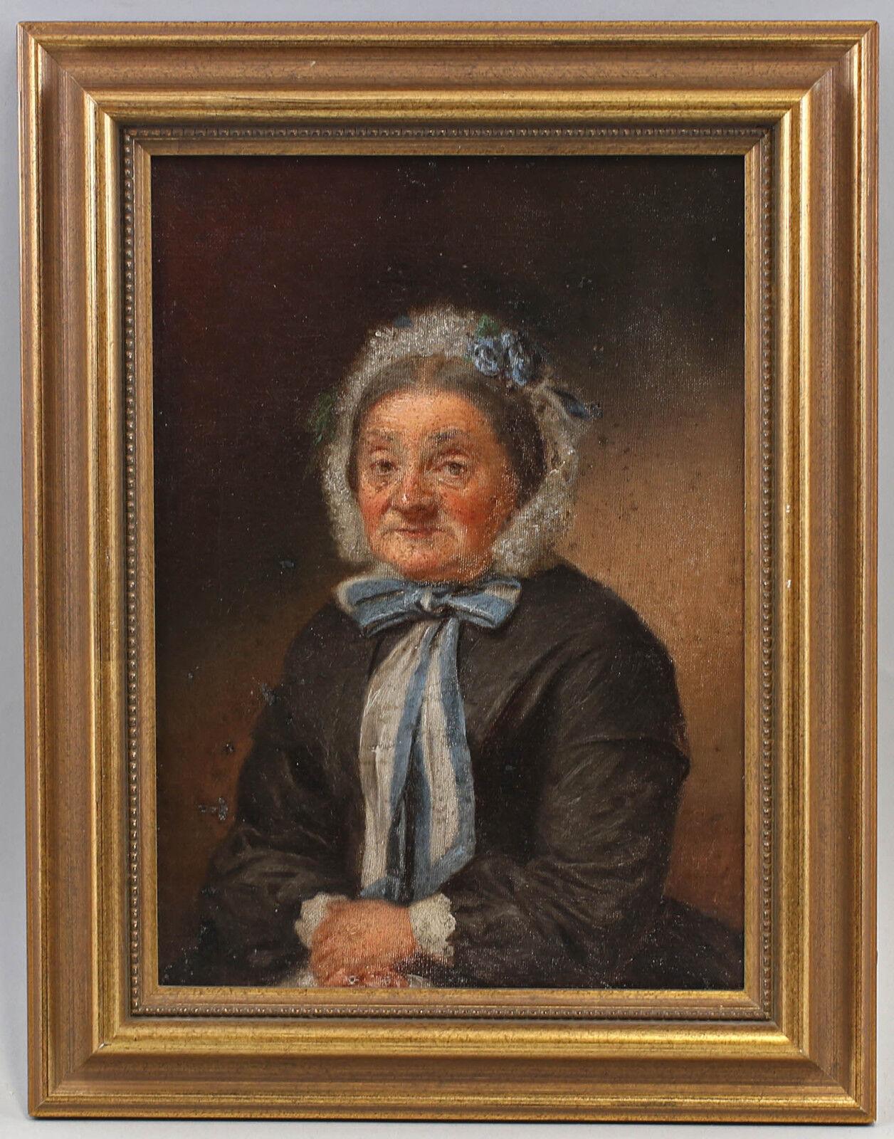8260046 HUILE-PEINTURES portrait une femme plus plus plus âgée en pointes Capot Mi 19. JH. | Online Store  | Une Performance Fiable  cb952b