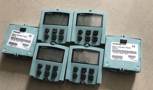 1PC Used Siemens S120 6SL3055-0AA00-4BA0 Operator Panel #FP
