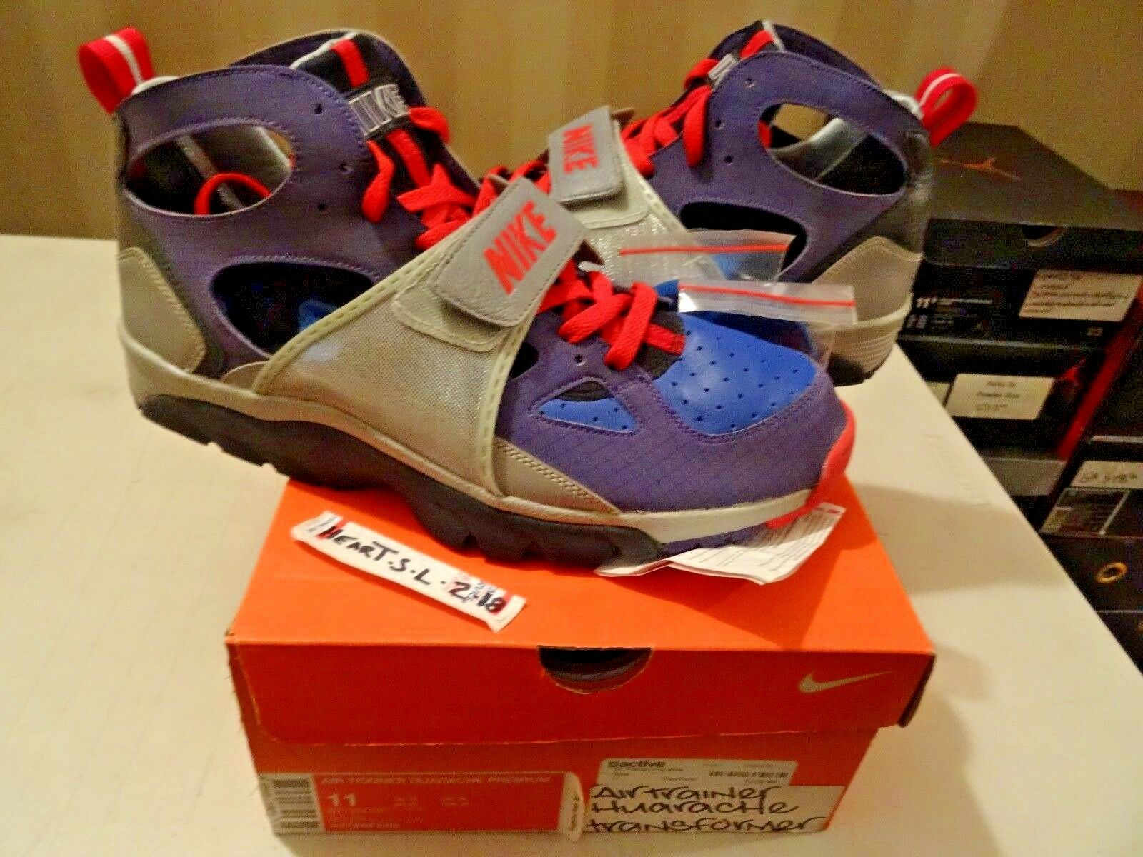 NEW 2007 Nike Air Max Trainer Huarache  Transformers Pack  317248-542 SZ 11 DUNK