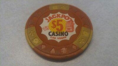 Auto Truck Plaza Casino Las Vegas NV $5 Chip 1973