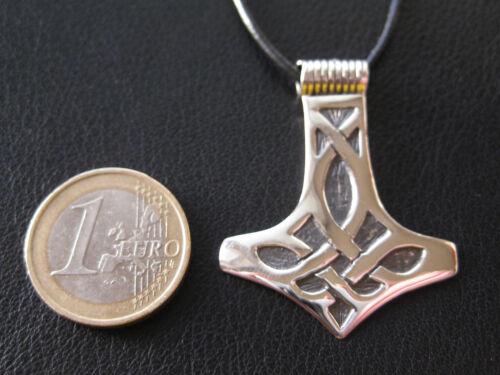 KA 421 Thors Hammer 925/'er Silber Wikinger Anhänger