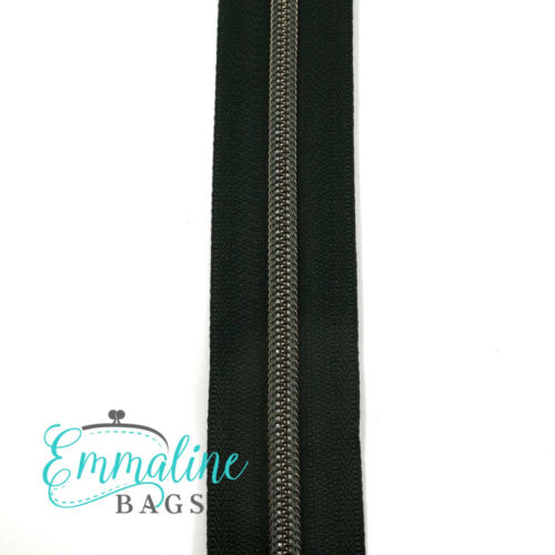 #5 Emmaline Zippers by the metre with 1 pull per m choice of colours