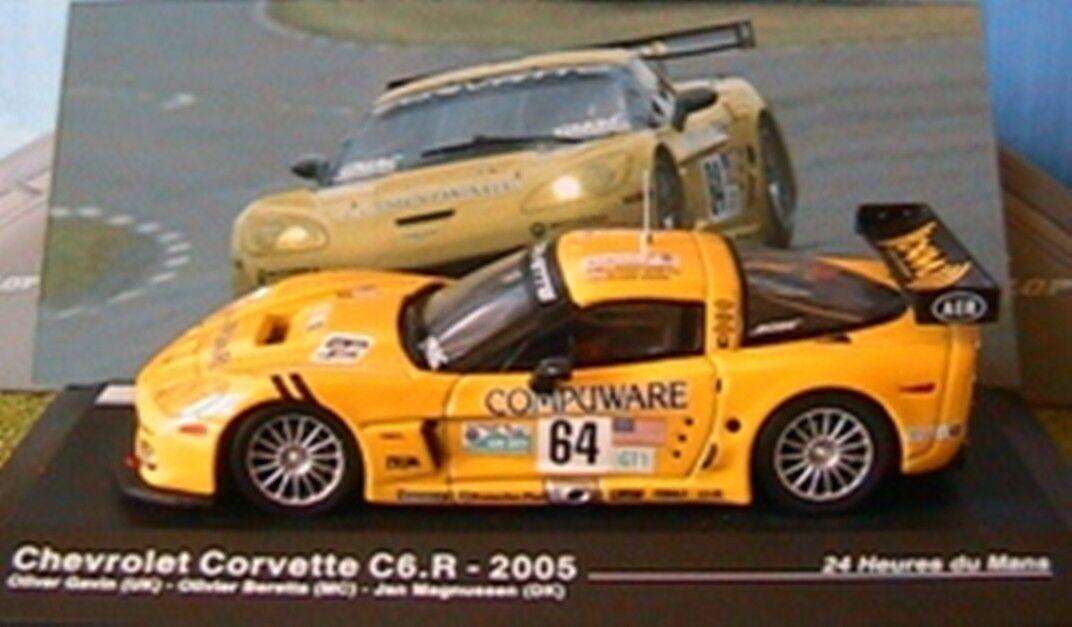 CHEVROLET CORVETTE C6.R HEURES DU MANS 2005 1 43 IXO GAVIN BERETA ALTAYA