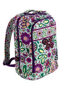 Image Is Loading New Viva La Vera Bradley Large Laptop Backpack