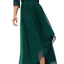 Coast April Organza High Low Forest Green Skirt Sizes UK 12-18
