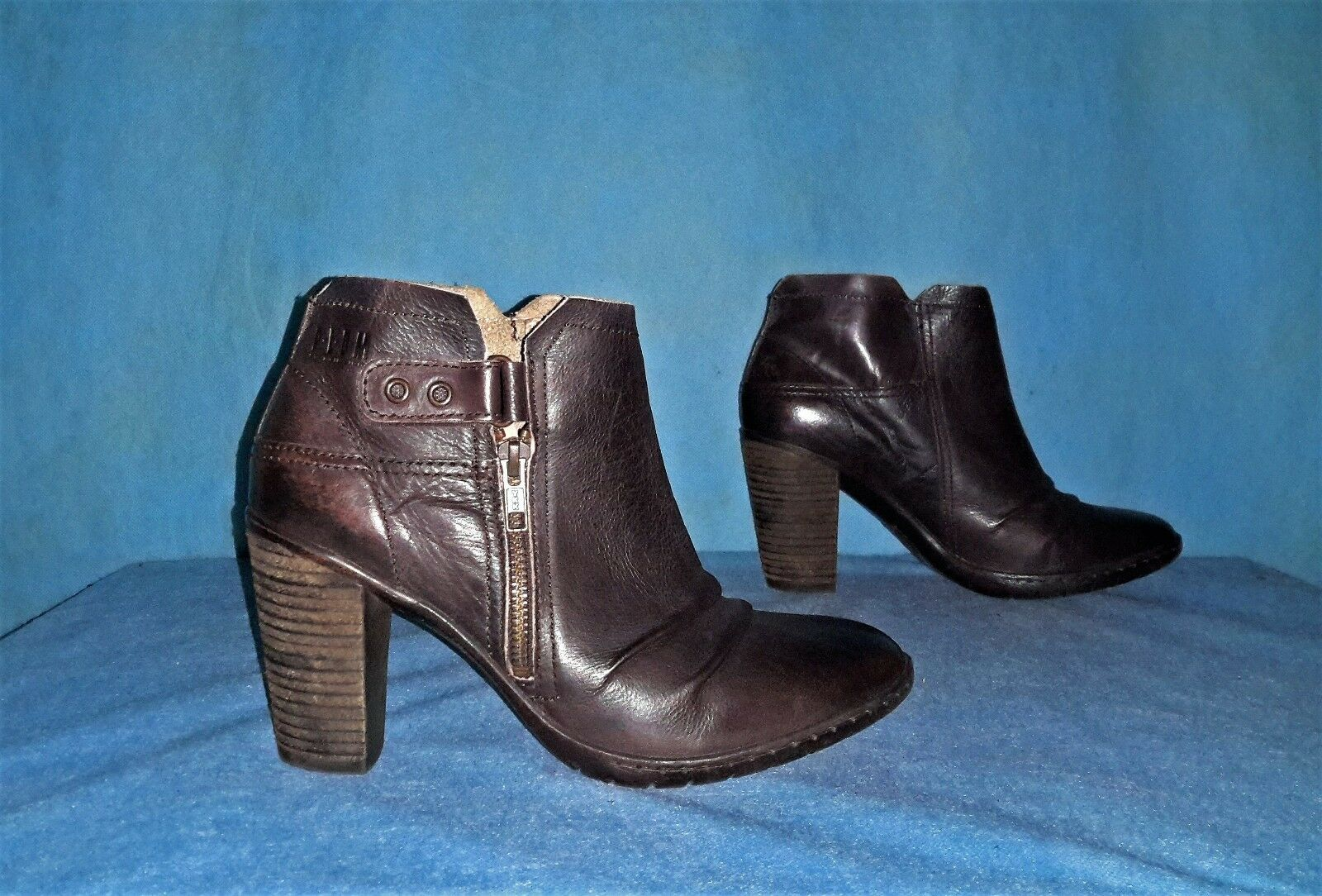 bottines boots PALLADIUM en cuir p 40 TBE