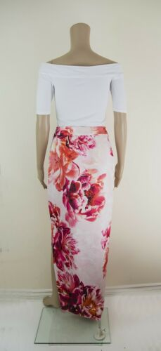 ex Coast Geraldine Column Maxi Skirt with Split