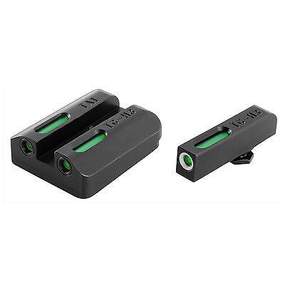 NEW TRUGLO Tritium Pro S&W M&P Series Front/Rear Night Sight Set Green TG231MP1W