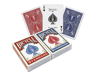 2-x-Bicycle-Playing-Cards-Decks-1-Red-amp-1-Blue-Casino-Poker-Snap-Family-Games