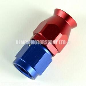 AN6-Straight-Braided-Hose-Fitting-Red-amp-Blue-for-PTFE-Teflon-Lined-Hose-6-6AN
