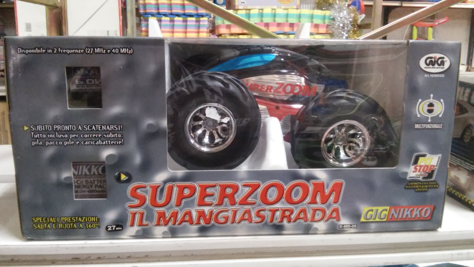 GIG NIKKO SUPERZOOM RC VINTAGE TOY