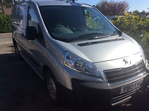 Peugeot Expert van in silver! 2 litre version! 12 Months MOT!!! NO VAT!!