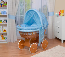WALDIN Baby Bollerwagen,Stubenwagen  XXL NEU !!! Blau