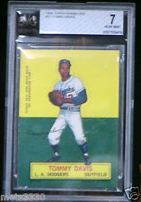 Topps 1964 Stand-Up Tommy Davis #21 Los Angelos Dodgers Beckett rated 7 NEAR MNT