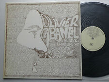 "Olivier CABANEL "" S/T "" ORIG LP AUTOPRODUCTION /PRIVATE press (1976) folk - NEUF"