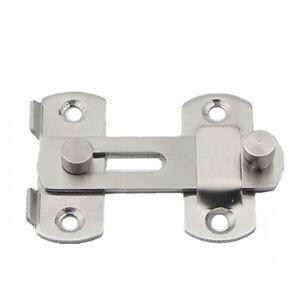 Image is loading 1Set-Security-Buckle-Home-Gate-Safety-Door-Locks-  sc 1 st  eBay & 1Set Security Buckle Home Gate Safety Door Locks Bolt Slide Lock ...