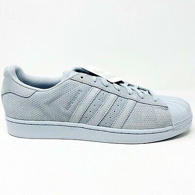 Adidas Superstar RT Mono Halo Blue Light Gray Mens Suede Sneakers AQ4168   eBay