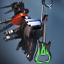 miniature 2 - Call Of Duty Black Ops Cold War Rockstar Weapon Charm, Emblem & Calling Card DLC