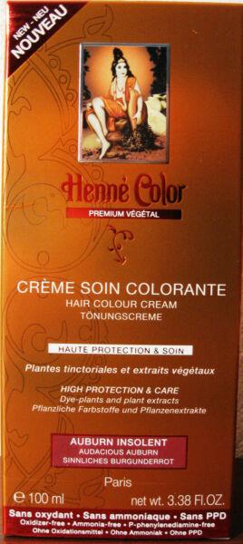 Henna Color Premium Vègètal Tönungscreme Tönung Haarfarbe 1299100ml
